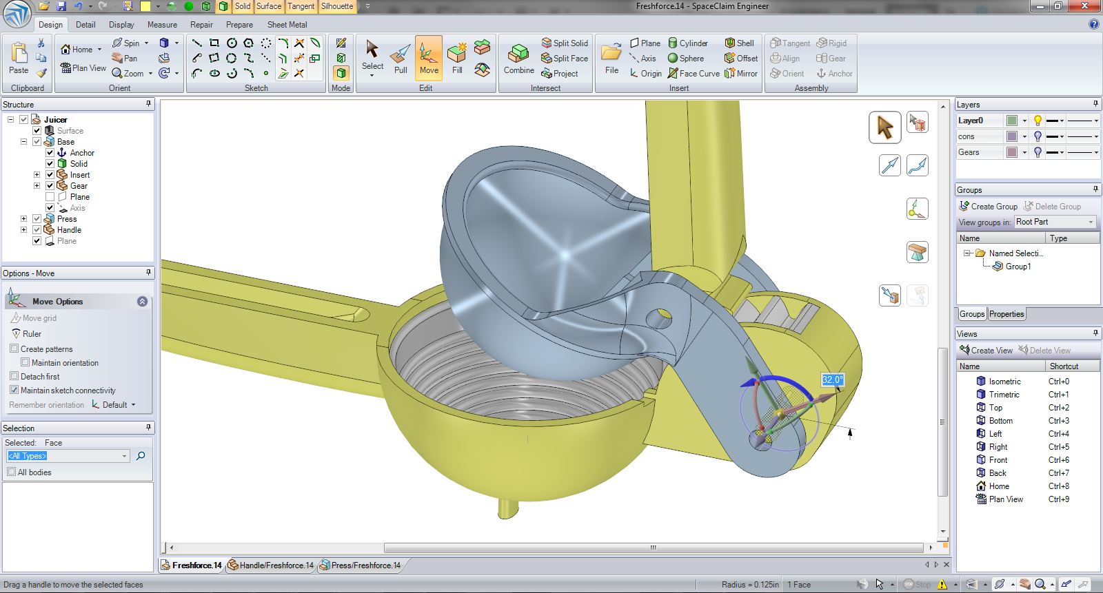 Spaceclaim engineer for Simple 3d cad software free