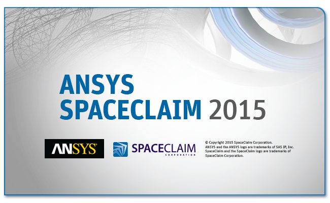 ANSYS SpaceClaim 2015 3d modeling software