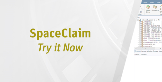 SpaceClaim Try it Now