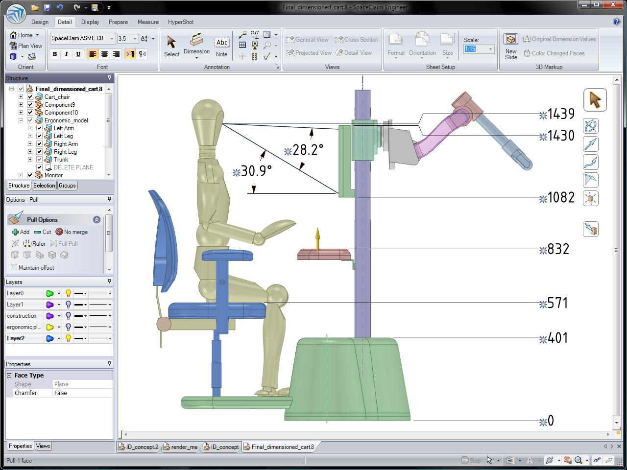 Spaceclaim 3d Direct Modeling For Industrial Design